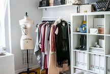 Walk in closet - dressingroom