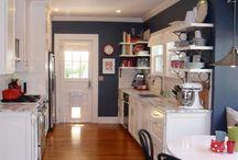 Kitchen (Greys/ navy)