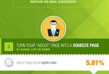 Email Marketing / Pins über Newsletter, Email, CRM, und Lead Generierung