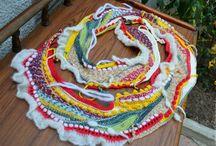 шарфы, снуды, шальки