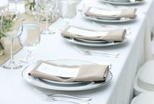 Borddekking / Elsker å dekke pene bord. Alltid på utkikk etter inspo.