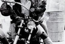 Love & motorcycles.