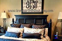 Bedrooms / by Claire Thornell Wilson