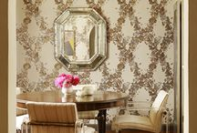 Wallpaper + Molding
