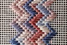 Вышивание на сетке