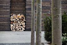 vestavěný dřevník