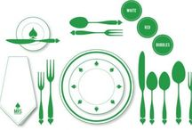 Neat, Clean & Organized: Table Setting