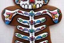 Day of the dead cookies Dia de los Muertos cookies