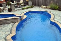 Pools & Spas / Enjoy the relaxation & serenity of a fiberglass pool and transform your backyard into the perfect spa retreat. Integrate the design of this water features into your modern backyard.