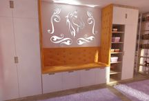 Horse bedroom for girls, Lovas gyerekszoba