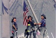 NEVER FORGET/thin blue line / by Mike Gonzalez