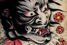 Idee Oni Tattoo