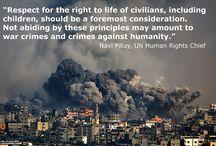 # Human Rights # Gaza