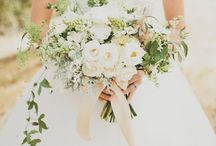 White & Wonderful / It's a well-known fact that I love colour. But if I was creating an all-white wedding it would look like this...