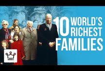 10 те най-богати фамилии