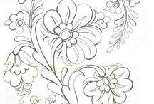 Szinezés - virágok