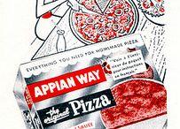 Vintage Pizza Stuff / Vintage pizza ads and more vintage stuff.