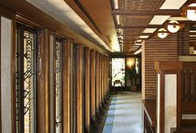Frank Lloyd Wright / House designed by Frank Lloyd Wright.