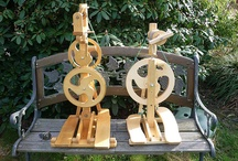 Spinning Wheels / Our favorite pins of spinning wheels, old, new, and homemade.