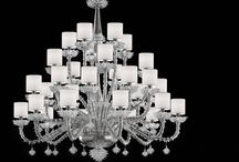 Traditional Venetian Chandeliers / The classic chandeliers in Venetian glass for a timeless elegance