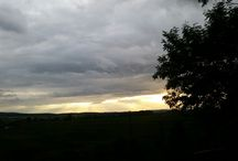 Abendrot / #sky