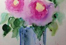 Arte floral / Ikebana - arranjos  florais