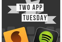 Two App Tuesday / Do you know all the apps that are out there to help you be organized, efficient and reclaim time? We are doing our best to bring you the best apps on the app store! Check out what we recommend!