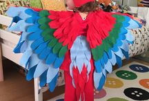 Christine T / Parrot costume
