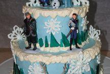 Butter Cream Decorating Cake / Birthday Cake