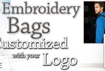 Custom Embroidered Bags / Custom Bags with Embroidered Logo  On Time , Every Time, Since 1989  Personalized Shoulder Bags  EZ Corporate Clothing offers you a variety of Customized Should
