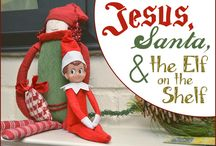 Holidays - Christmas Angel / Elf of the Shelf