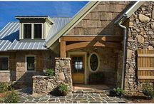 Entryways / What better way to welcome others to your home then with a beautiful timber framed entryway!