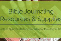 Bible Journaling / by Bobbi Aulabaugh