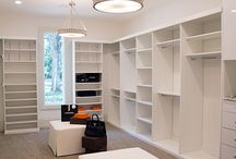 Big closets/clothing organizers
