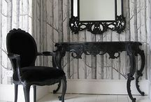 Striking French Noir Furniture / These stunning French Noir furniture pieces are sure to catch the eye of any guests entering your home! / by Beau Decor