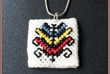 Pandantiv tricolor