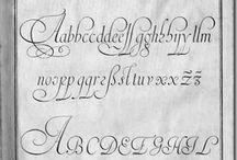Alphabet Tulisan tangan