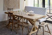 Farmhouse tables / by Harley Caldwell