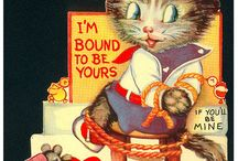 Creepy vintage Valentines / by Nichole Leavy