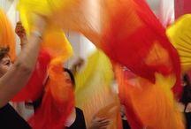 #lezioni a Spazio Aries! / Ecco una raccolta di foto durante le #lezioni a Spazio Aries! Momenti lieti e allegri con #danzadelventre, #tribal, #fusion, danzando con ali di #Iside, #velo, #fanveil. Ma anche lezioni di #Giocodanza con i bei bambini ballerini, #tonificazione con il #pilates e rilassamento con lo #yoga! E la capoerira dove la metttiamo?