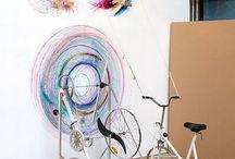 biciklivel hajtott