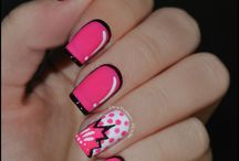Nails pop art