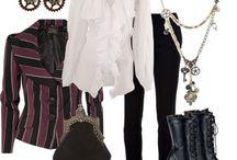 Steampunk styling - ladies