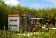 Shipping containers and small houses