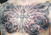tattoo world  (pt. 3 chest, belly &,,,,,,)