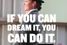 Quotes / Some of our favourite Motivational, Inspirational and Horse quotes with photos of Natasha Althoff and her horses here at the International Institute of Dressage!