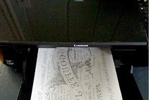 Obtisky a fotky na dřevo