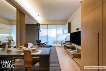 Zen Interior Design / This board is one of our completed project with Zen interior design concept for our clients who are looking for peace of mind and tranquility in a busy city.