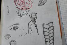 random rosa, labios y capota / de todo un poco