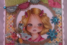 Sugar Nellie /Funky Kits cards I {heart}